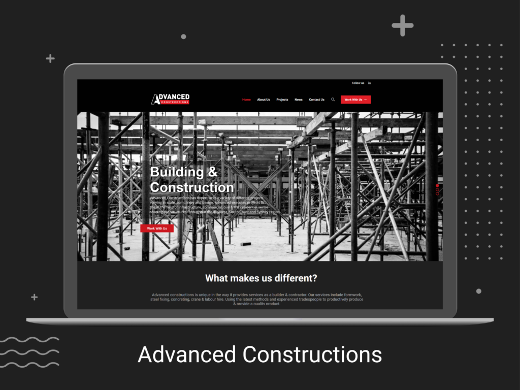 Advanced Constructions Website