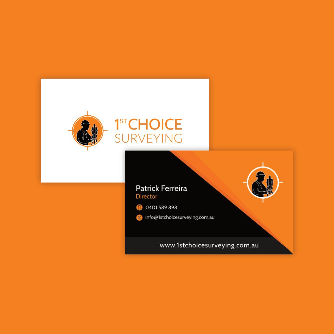 1st Choice Surveying - Business card