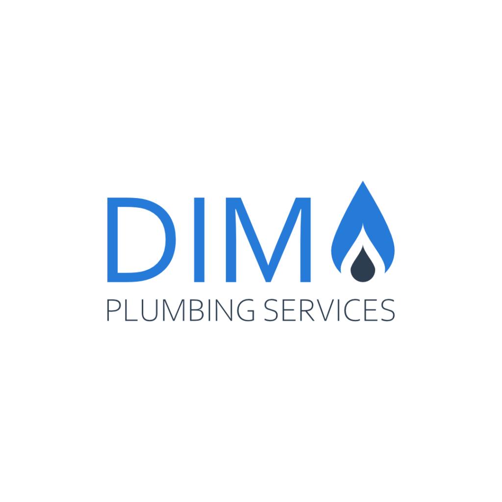 Logo design for Dim Plumbing Services